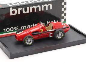 Alberto Ascari Ferrari 500F2 #5 British GP F1 Weltmeister 1953 1:43 Brumm