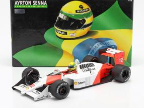 Ayrton Senna McLaren MP4/4 #12 World Champion formula 1 1988 1:12 Minichamps