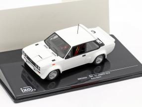 Fiat 131 Abarth 1978 Rally Specs Plain Body Version white 1:43 Ixo