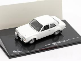 Ford Escort MK I RS 1600 1971 Rally Specs Plain Body Version white 1:43 Ixo