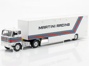 Volvo F88 Racing transporter Brabham Martini Racing formula 1 1:43 Ixo