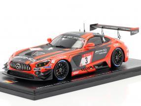 Mercedes-Benz AMG GT3 #3 2nd 24h Nürburgring 2019 Team Black Falcon 1:43 Spark
