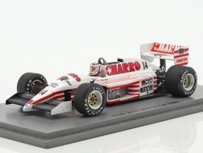 Pascal Fabre AGS JH22 #14 British GP formula 1 1987 1:43 Spark