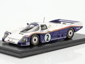 Porsche 962C #2 3rd 24h LeMans 1985 Bell, Stuck, Ickx 1:43 Spark