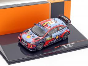 Hyundai i20 Coupe WRC #11 4th Rallye Germany 2019 Neuville, Gilsoul 1:43 Ixo