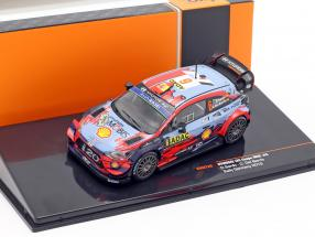 Hyundai i20 Coupe WRC #6 5th Rallye Germany 2019 Sordo, Del Barrio 1:43 Ixo