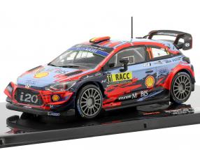 Hyundai i20 Coupe WRC #11 winner Rallye Catalunya 2019 Neuville, Gilsoul 1:43 Ixo