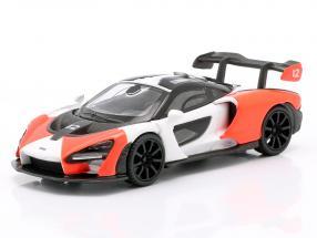 McLaren Senna LHD #12 2018 rot / weiß / schwarz 1:64 TrueScale
