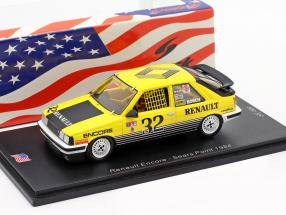 Renault R11 Encore #32 Sears Point 1984 Bobby Archer 1:43 Spark