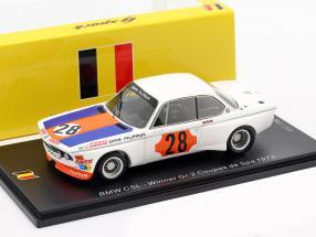 BMW CSL #28 Winner Gr.2 Coupes de Spa 1973 Niki Lauda 1:43 Spark