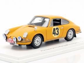 Porsche 911 S #43 Rallye Monte Carlo 1967 Aarnio-Wihuri, Laakso 1:43 Spark