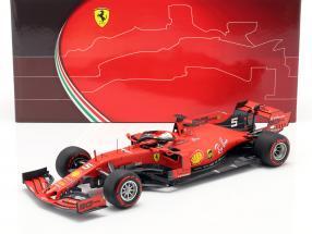 Sebastian Vettel Ferrari SF90 #5 Italien GP Formel 1 2019 1:18 BBR