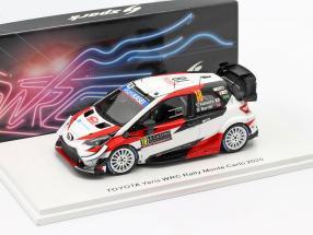 Toyota Yaris WRC #18 7th Rallye Monte Carlo 2020 Katsuta, Barritt 1:43 Spark