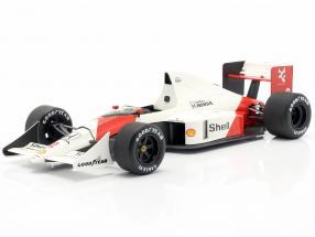 Alain Prost McLaren MP4/5 #2 Weltmeister Monaco GP Formel 1 1989 1:18 TrueScale
