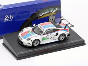 Porsche 911 RSR GTE #93 3rd LMGTE Pro 24h LeMans 2019 Porsche GT Team 1:64 Spark