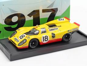 Porsche 917K #18 24h LeMans 1970 Piper, van Lennep 1:43 Brumm