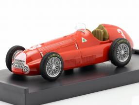 Luigi Fagioli Alfa Romeo 158 #3 2nd Great Britain GP formula 1 1950 1:43 Brumm