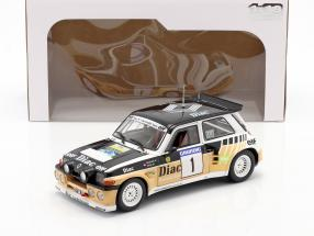 Renault Maxi 5 Turbo #1 Winner Rally du Var 1986 Chatriot, Perin 1:18 Solido