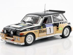 Renault Maxi 5 Turbo #1 Winner Rallye du Var 1986 Chatriot, Perin 1:18 Solido