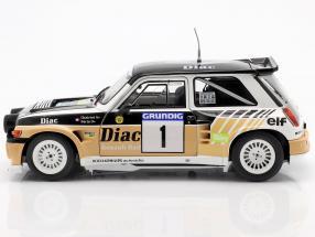 Renault Maxi 5 Turbo #1 Winner Rally du Var 1986 Chatriot, Perin