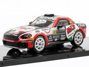 Fiat Abarth 124 RGT #56 Rally Monte Carlo 2019 Brazzoli, Fenoli 1:43 Ixo