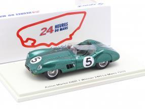 Aston Martin DBR 1 #5 Winner 24h LeMans 1959 Shelby, Salvadori 1:43 Spark
