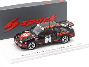 Ford Sierra RS Cosworth #6 2nd Rally of the 1000 Lakes Finland 1987 1:43 Spark