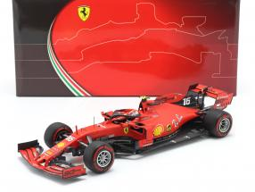 C. Leclerc Ferrari SF90 #16 Winner Belgium GP F1 2019 Pole Position 1:18 BBR