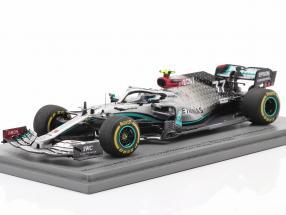 V. Bottas Mercedes-AMG F1 W11 EQ #77 Test Barcelona Formel 1 2020 1:43 Spark