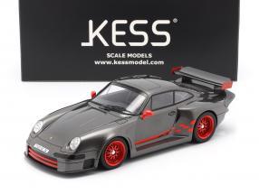 Porsche 911 (993) GT1 Almeras gray metallic 1:18 KESS