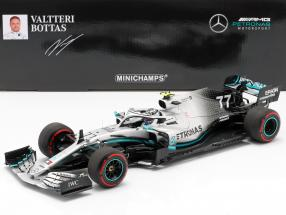V. Bottas Mercedes-AMG F1 W10 #77 Great Britain GP F1 2019 1:18 Minichamps