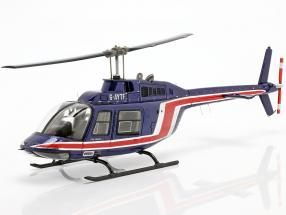 Team Lotus Formula 1 1981 Helicopter Essex team blue / red 1:43 Spark