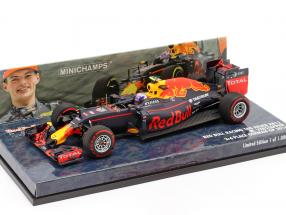 Max Verstappen Red Bull RB12 #33 3rd Germany GP formula 1 2016 1:43 Minichamps