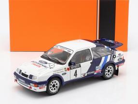 Ford Sierra RS Cosworth #4 5th Rallye 1000 Lakes 1988 Blomqvist, Melander 1:18 Ixo