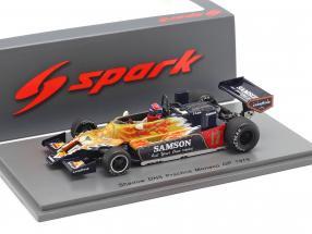 Jan Lammers Shadow DN9 #17 Practice Monaco GP formula 1 1979 1:43 Spark
