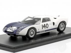 Ford GT40 #140 1000km Nürburgring 1964 Hill, McLaren 1:43 Spark