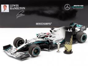 L. Hamilton Mercedes-AMG F1 W10 #44 United States GP World Champion F1 2019 1:18 Minichamps