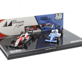 2-Car Set Michael & Mick Schumacher Sieger Macau F3 1990 & 2018 1:43 Minichamps