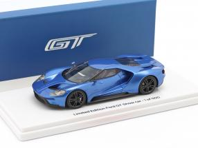Ford GT Showcar blau metallic 1:43 TrueScale