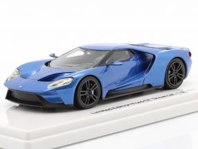 Ford GT Showcar blue metallic 1:43 TrueScale