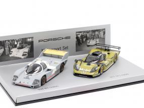 Porsche 956 KH & 911 GT1 motorsport set 1:43 Minichamps