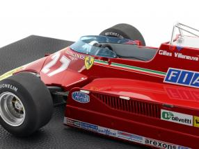 Gilles Villeneuve Ferrari 126CK #27 Formel 1 1981 1:12 GP Replicas / 2. Wahl