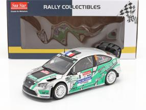 Ford Focus RS WRC #8 4th Rallye du Touquet 2012 Beaubelique, Hugonnot 1:18 SunStar
