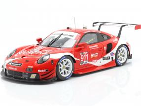 Porsche 911 RSR #911 Coca Cola IMSA champion 2019 Petit LeMans 1:18 Spark