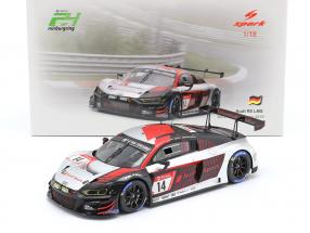 Audi R8 LMS #14 3rd 24h Nürburgring 2019 Audi Sport Team Car Collection 1:18 Spark