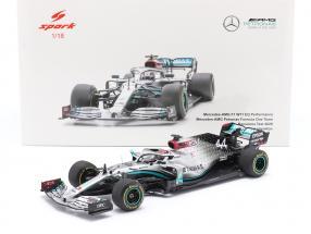 L. Hamilton Mercedes-AMG F1 W11 EQ #44 test Barcelona formula 1 2020 1:18 Spark