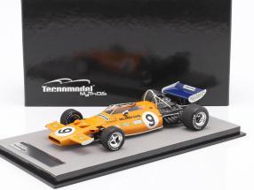 Denis Hulme McLaren M19A #9 Monaco GP formula 1 1971 1:18 Tecnomodel