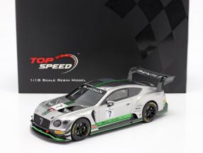 Bentley Continental GT3 #7 Blancpain GT Series Endurance Cup Monza 2018 1:18 TrueScale