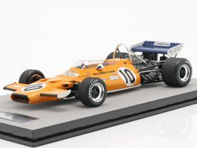 Peter Gethin McLaren M19A #10 France GP formula 1 1971 1:18 Tecnomodel