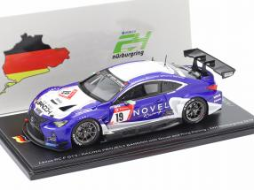 Lexus RC F GT3 #19 24h Nürburgring 2019 Racing Project Bandoh 1:43 Spark